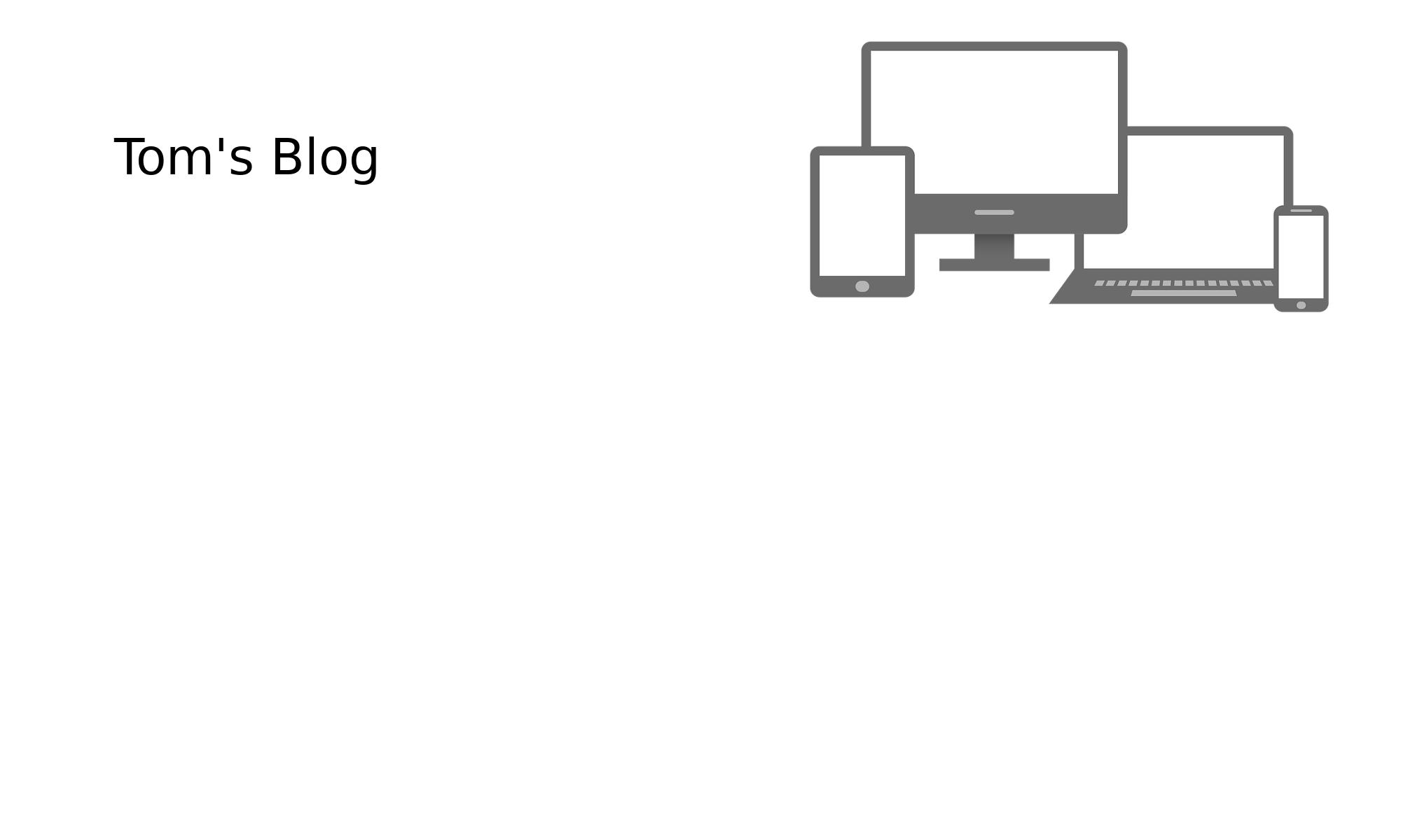 Tom's Blog